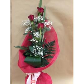 Mazzo 3 Rose Rosse