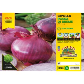 CIPOLLA ROSSA DI BREME H526