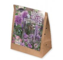 BULBI BLOOMS, BEES & BUTTERFLIES GARDEN VIOLET-PINK