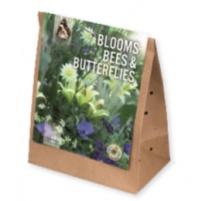 BULBI BLOOMS, BEES & BUTTERFLIES GARDEN WHITE-BLUE