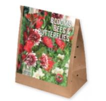 BULBI BLOOMS, BEES & BUTTERFLIES GARDEN RED-WHITE