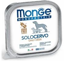 MONGE MONOPROTEIN CERVO 150 GR