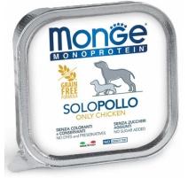 MONGE MONOPROTEIN POLLO 150 GR