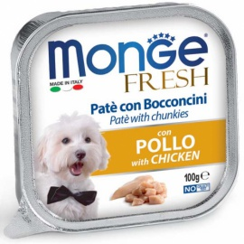 MONGE FRESH POLLO 100 GR