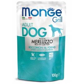 MONGE GRILL MERLUZZO 100 GR