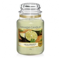 YANKEE CANDLE LIME AND CORIANDER
