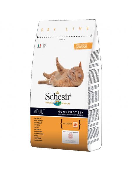 SCHESIR ADULT CAT POLLO 1,5 KG