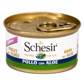 SCHESIR KITTEN FILETTI DI POLLO CON ALOE 85 GR