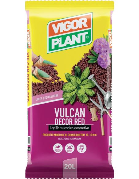 LAPILLO VULCAN DECOR RED VIGORPLANT