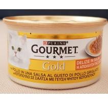 GOURMET GOLD DELIZIE IN SALSA AL POLLO 85 GR