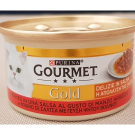 GOURMET GOLD DELIZIE IN SALSA AL MANZO 85 GR