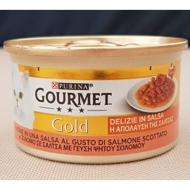 GOURMET GOLD DELIZIE IN SALSA AL SALMONE 85 GR