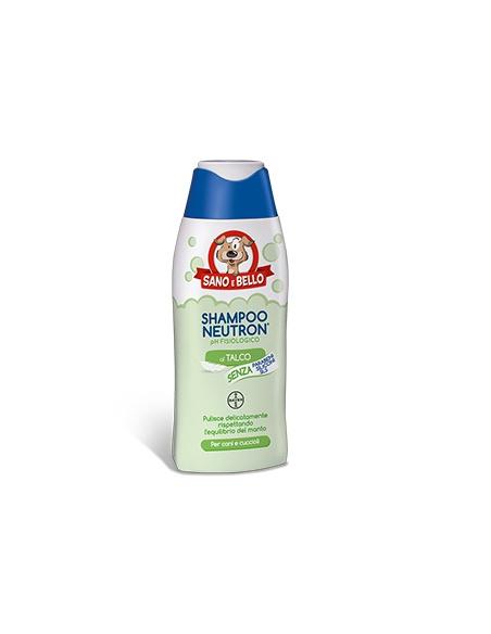 SANO E BELLO SHAMPOO NEUTRON TALCO 250 ML