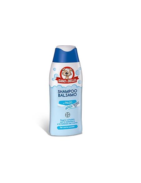 SANO E BELLO SHAMPOO BALSAMO TALCO 250 ML