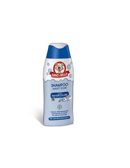 SANO E BELLO SHAMPOO MANTI SCURI 250 ML