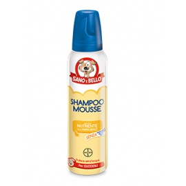 SANO E BELLO SHAMPOO MOUSSE PAPPA REALE 300 ML