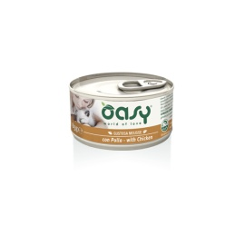 OASY WET CAT MOUSSE POLLO 85 GR