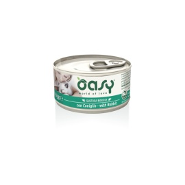 OASY WET CAT MOUSSE CONIGLIO 85 GR