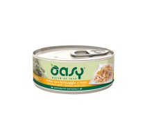 OASY WET DOG SPEC. NATURALE POLLO CON FORMAGGIO E MAIS 150 GR