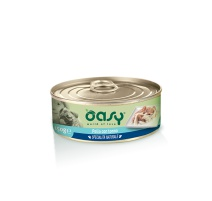 OASY WET DOG SPEC. NATURALE POLLO CON TONNO 150 GR