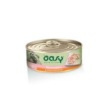 OASY WET DOG SPEC. NATURALE POLLO CON SALMONE 150 GR