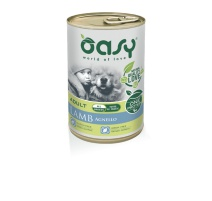 OASY WET DOG ONE PROTEIN AGNELLO 400 GR