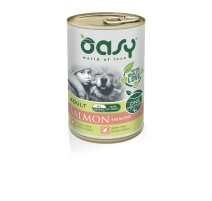 OASY WET DOG ONE PROTEIN SALMONE 400 GR