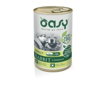 OASY WET DOG ONE PROTEIN CONIGLIO 400 GR