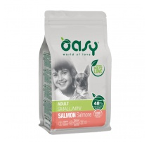 OASY ADULT SMALL / MINI SALMONE 2,5 KG