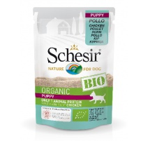 SCHESIR DOG BIO PUPPY POLLO 85 GR