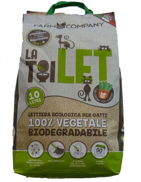 LETTIERA VEGETALE FARMCOMPANY 10 L
