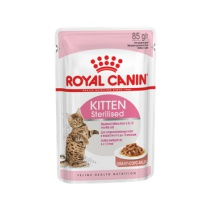 ROYAL CANIN KITTEN STERILISED SALSA 85 GR