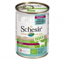 SCHESIR DOG BIO PUPPY POLLO 400 GR