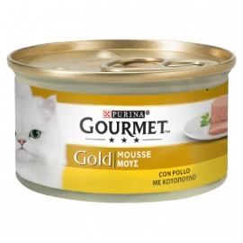 GOURMET GOLD MOUSSE POLLO 85 GR