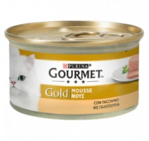 GOURMET GOLD MOUSSE TACCHINO 85 GR