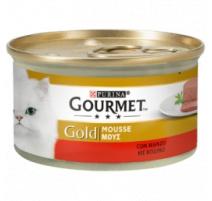GOURMET GOLD MOUSSE MANZO 85 GR