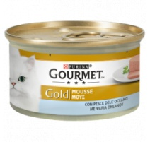 GOURMET GOLD MOUSSE PESCE DELL'OCEANO 85 GR