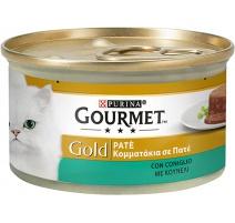 GOURMET GOLD PATE' CONIGLIO 85 GR