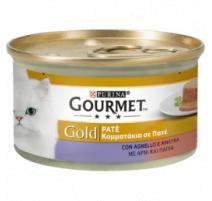 GOURMET GOLD PATE' AGNELLO E ANATRA 85 GR