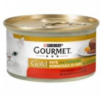 GOURMET GOLD PATE' MANZO E CAROTE 85 GR