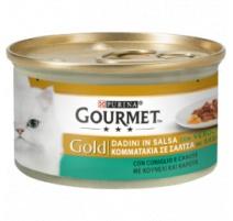 GOURMET GOLD DADINI IN SALSA CONIGLIO E CAROTE 85 GR