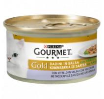 GOURMET GOLD DADINI IN SALSA VITELLO E VERDURE 85 GR