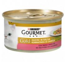 GOURMET GOLD DADINI IN SALSA TROTA E VERDURE 85 GR