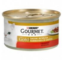 GOURMET GOLD DADINI IN SALSA MANZO 85 GR
