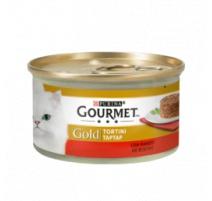 GOURMET GOLD TORTINI MANZO 85 GR