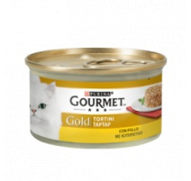 GOURMET GOLD TORTINI POLLO 85 GR