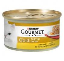 GOURMET GOLD TORTINI POLLO E CAROTE 85 GR
