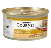 GOURMET GOLD TORTINI TACCHINO E SPINACI 85 GR