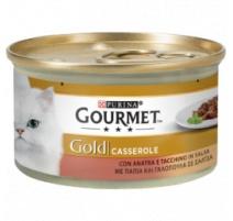 GOURMET GOLD CASSEROLE ANATRA E TACCHINO 85 GR