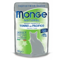 MONGE NATURAL TONNO 80 GR